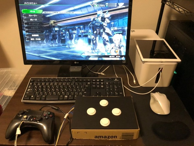 PS4版、ボーダーブレイク用にコントローラをカスタマイズする【4完成】
