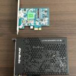 キャプチャ環境をAVerMedia LiveGamerHD2 C988に更新