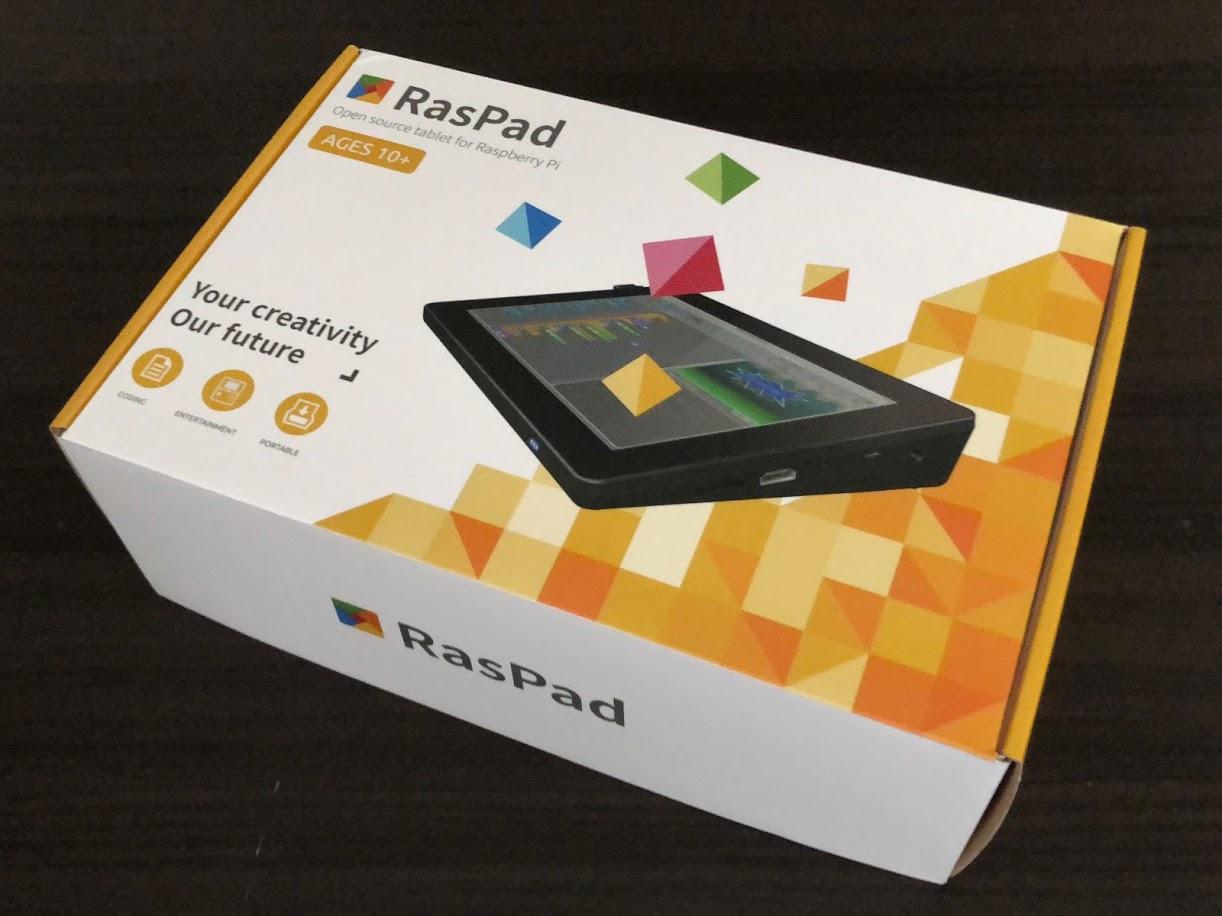 RasPadが届きました!
