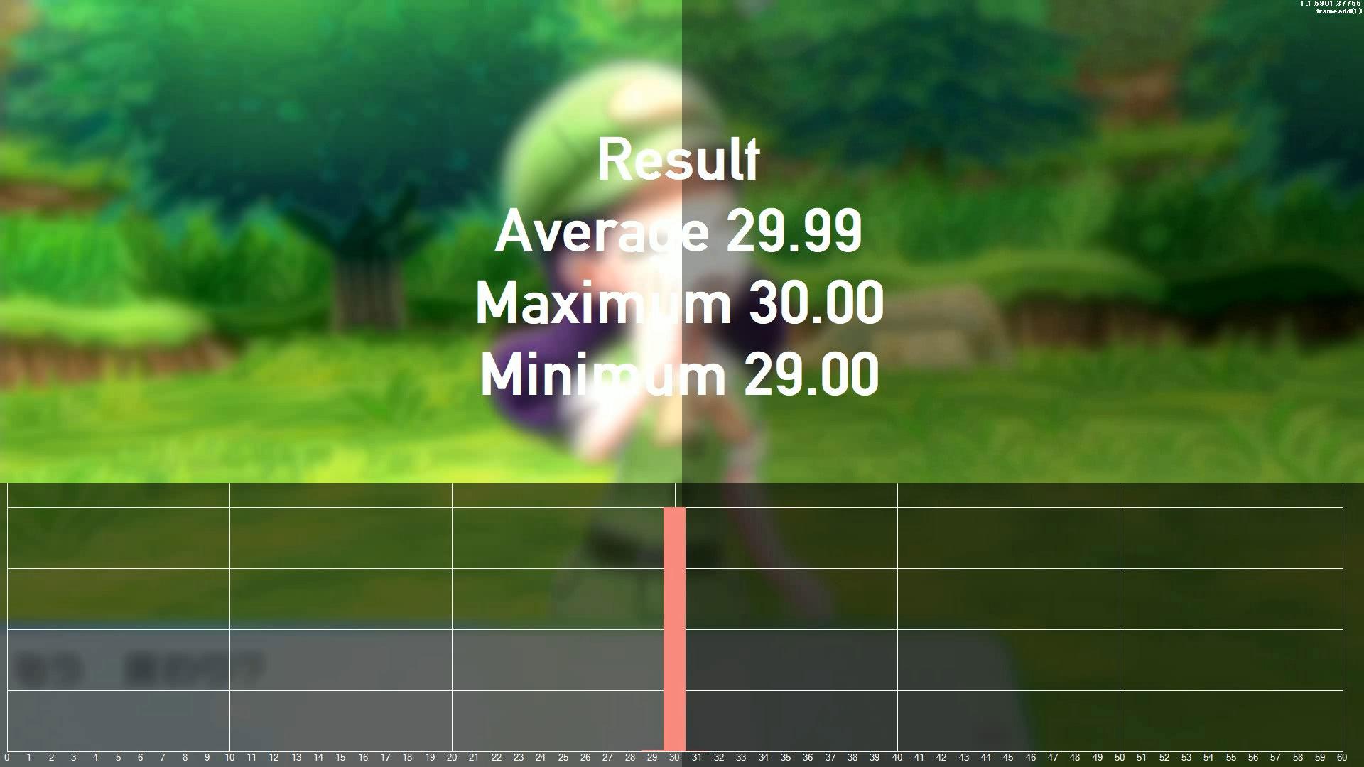 ゲームのフレームレート検証 v1.1.6901.37766