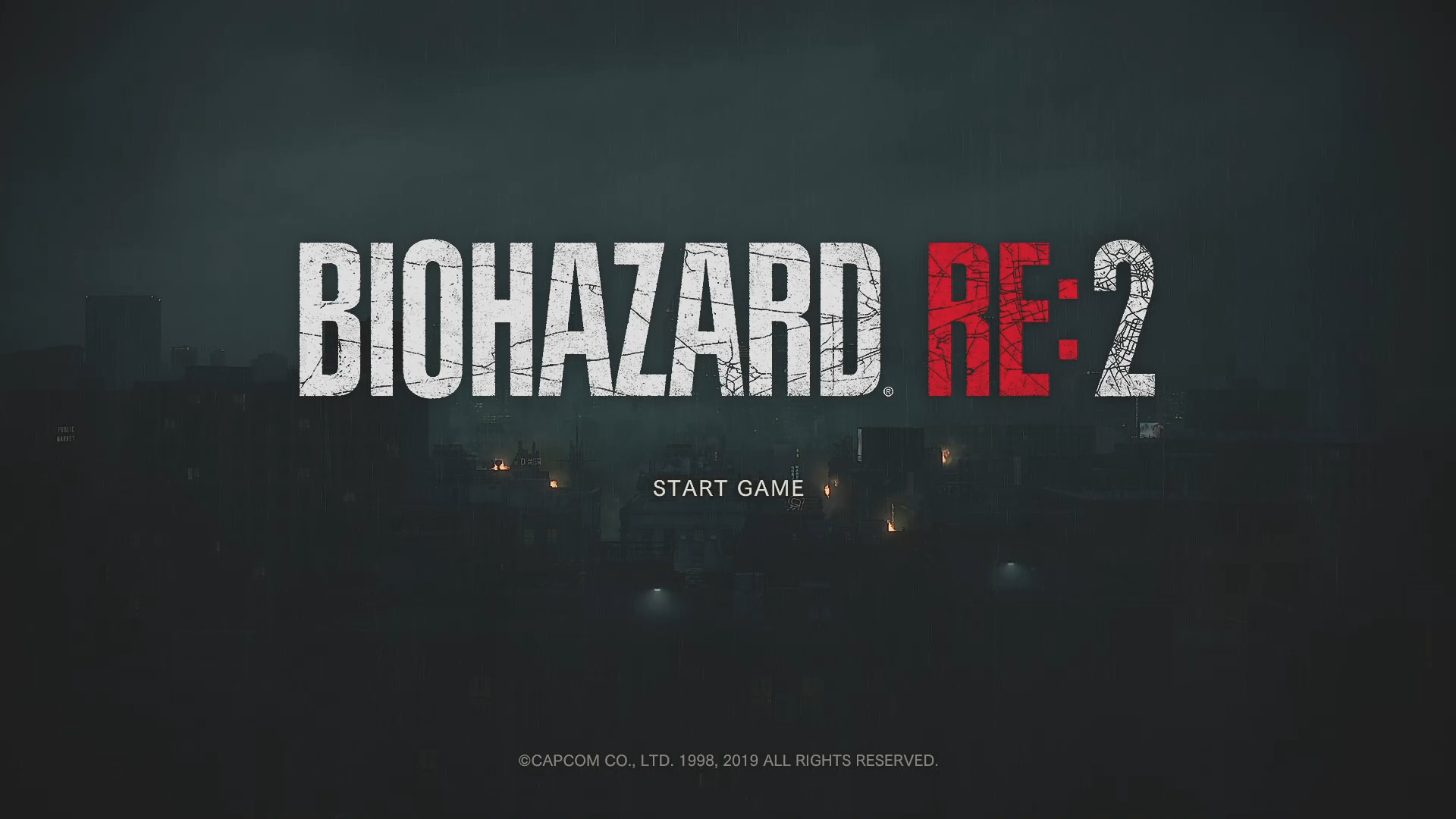 "BIOHAZARD RE:2 ""1-Shot Demo""をお試し"