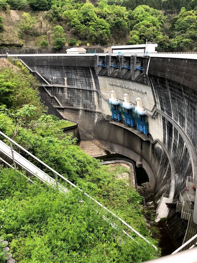 BESV JF1 で天ヶ瀬ダムへ