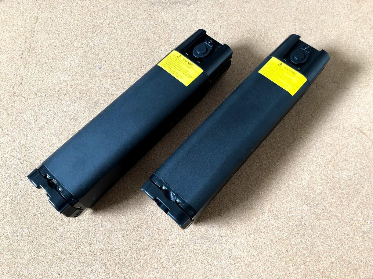 BESV JF1 の追加バッテリーとリアキャリア受け取り