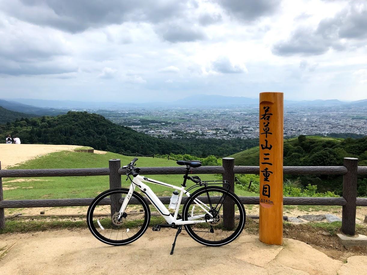 BESV JF1 で奈良公園、若草山へ
