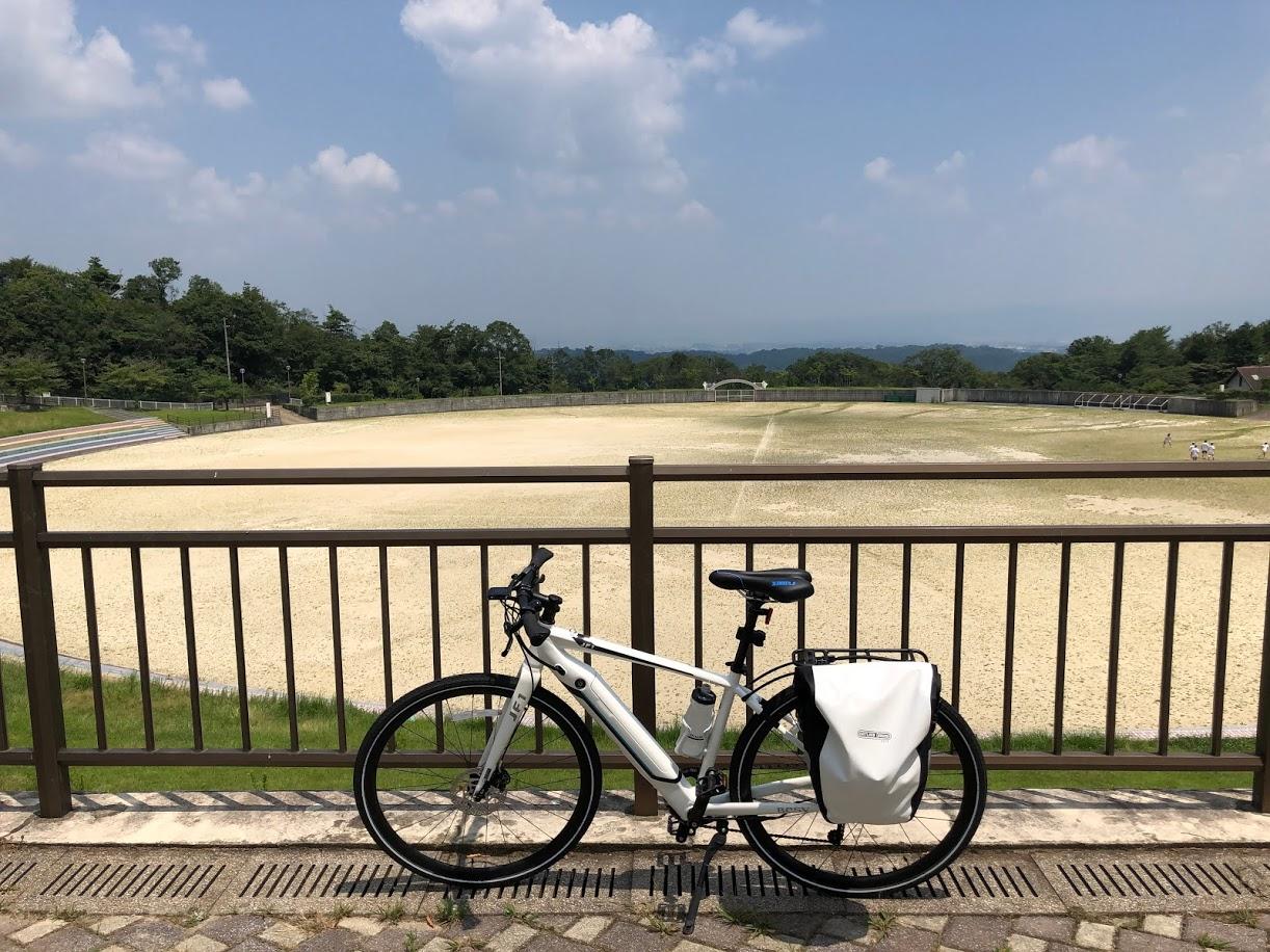 BESV JF1 で生駒山麓公園へ