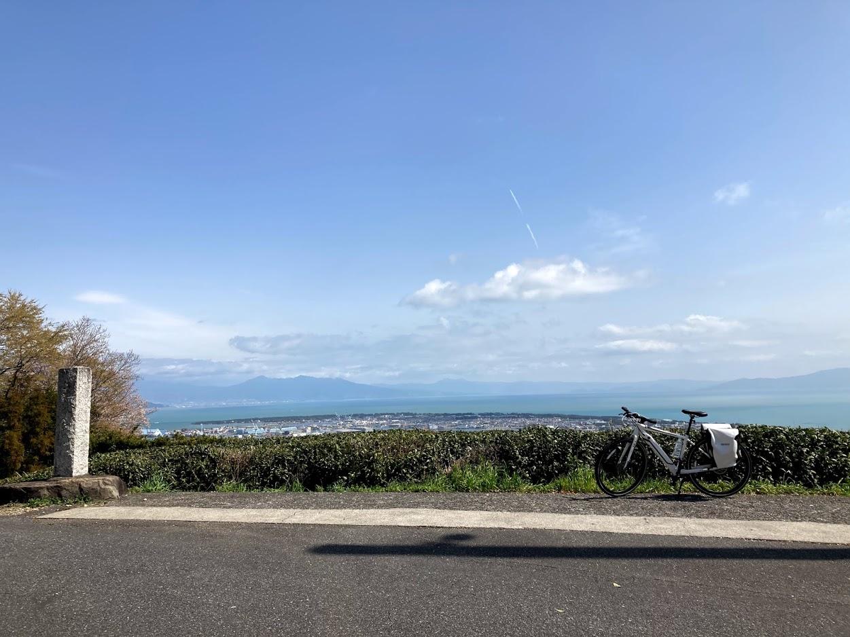 BESV JF1 で静岡の三保・日本平へ