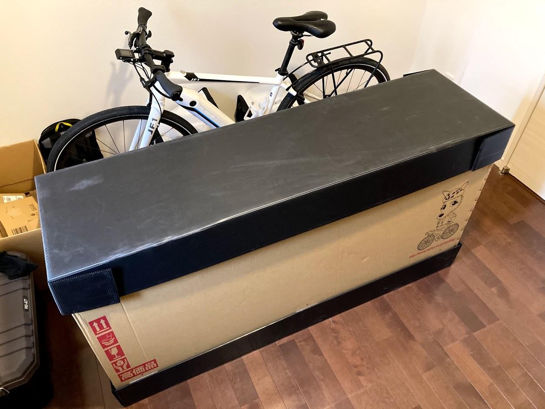 BESV JF1 で静岡へ・発送編(カンガルー自転車イベント便/輸送便)