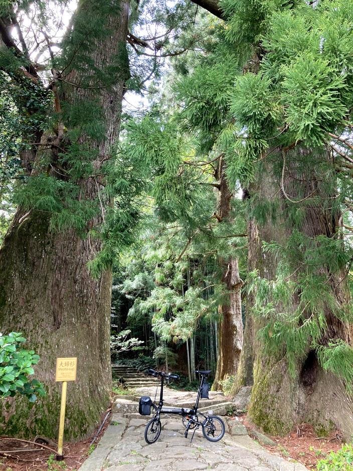 DAHON K3 で西国三十三所 巡礼の旅(第一番 青岸渡寺)