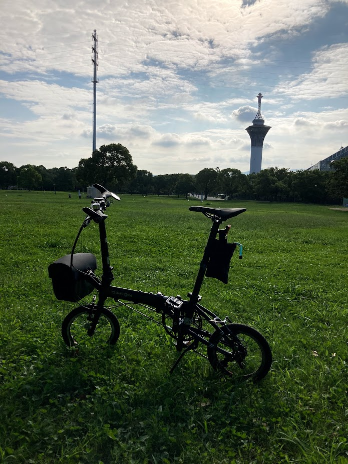 DAHON K3 で鶴見緑地公園へ行こう